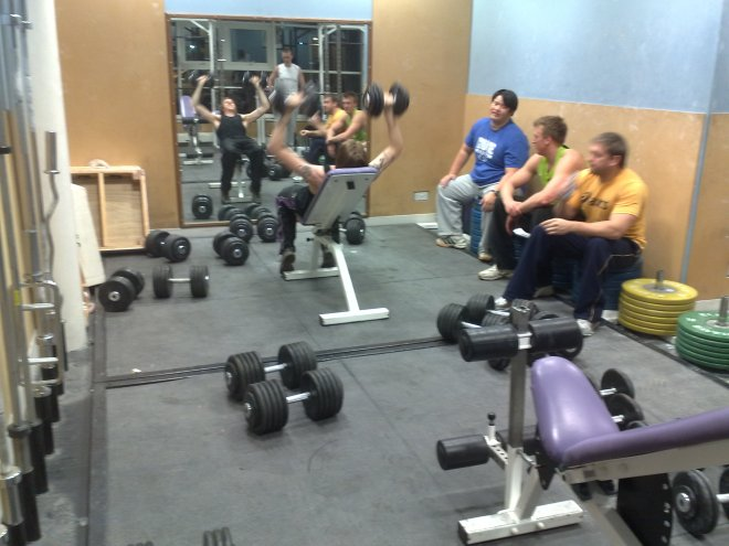 At the HiPAC gym