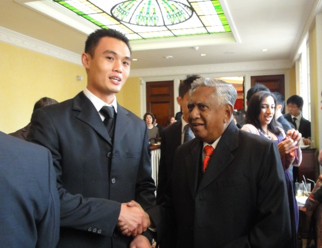 President of the Republic of Singapore, Mr S. R. Nathan