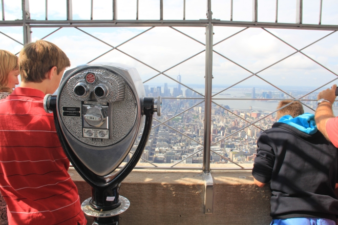 86th Floor, Empire State Building, New York City