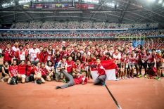 The class of 2015, photo by Singapore Athletics. It's a special photo this one.
